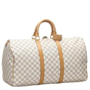 Louis Vuitton  Damier Azur Keepall 50 Duffle